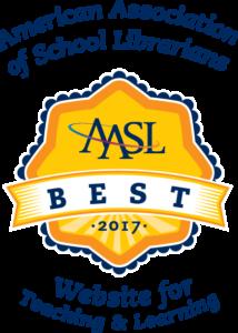 AASL Best Websites Logo