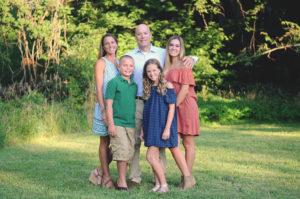 Angela Van Batavia and her family